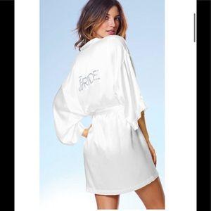 Victoria Secret Silk Bride Robe I Do